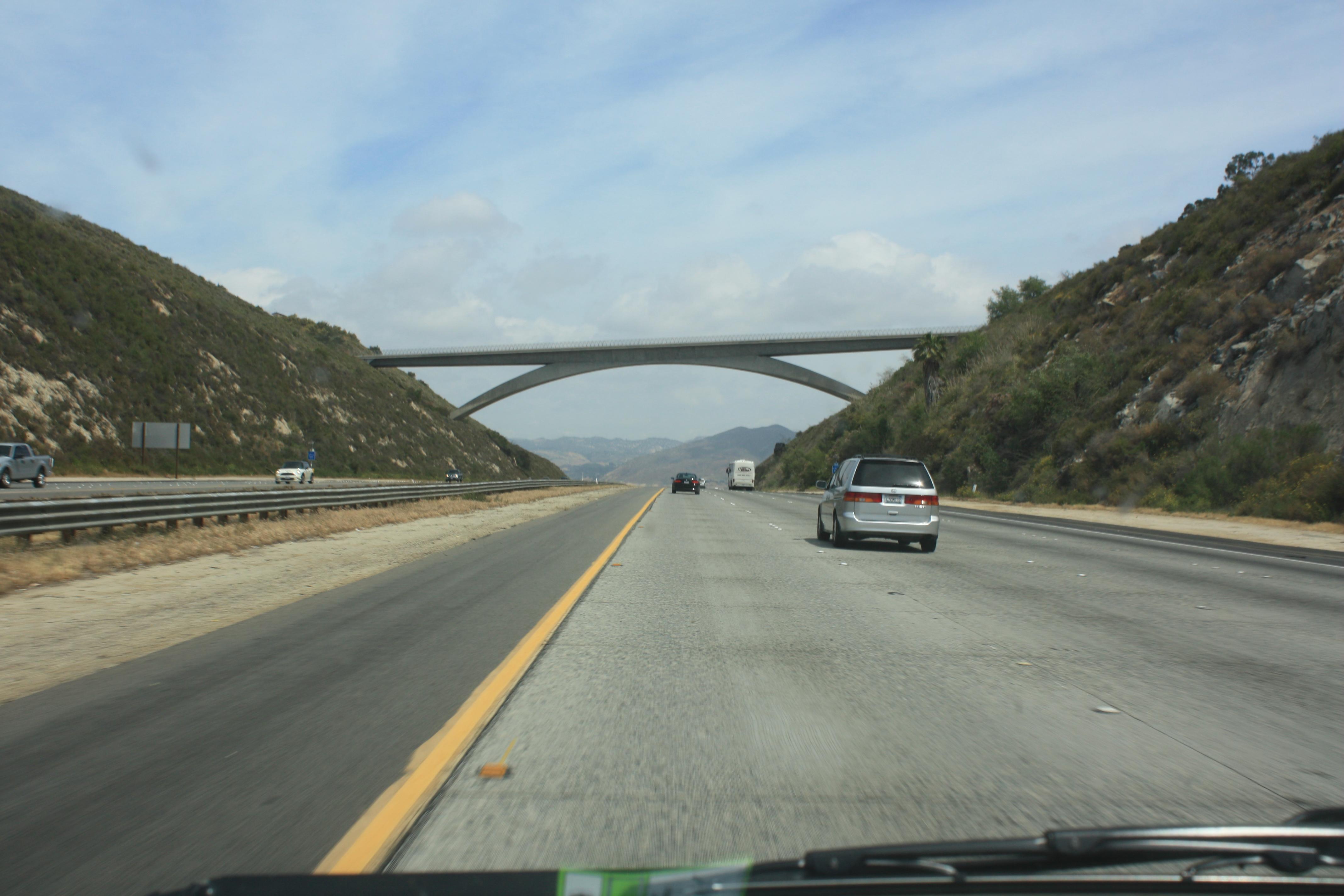 California Freeway, by San Deigo