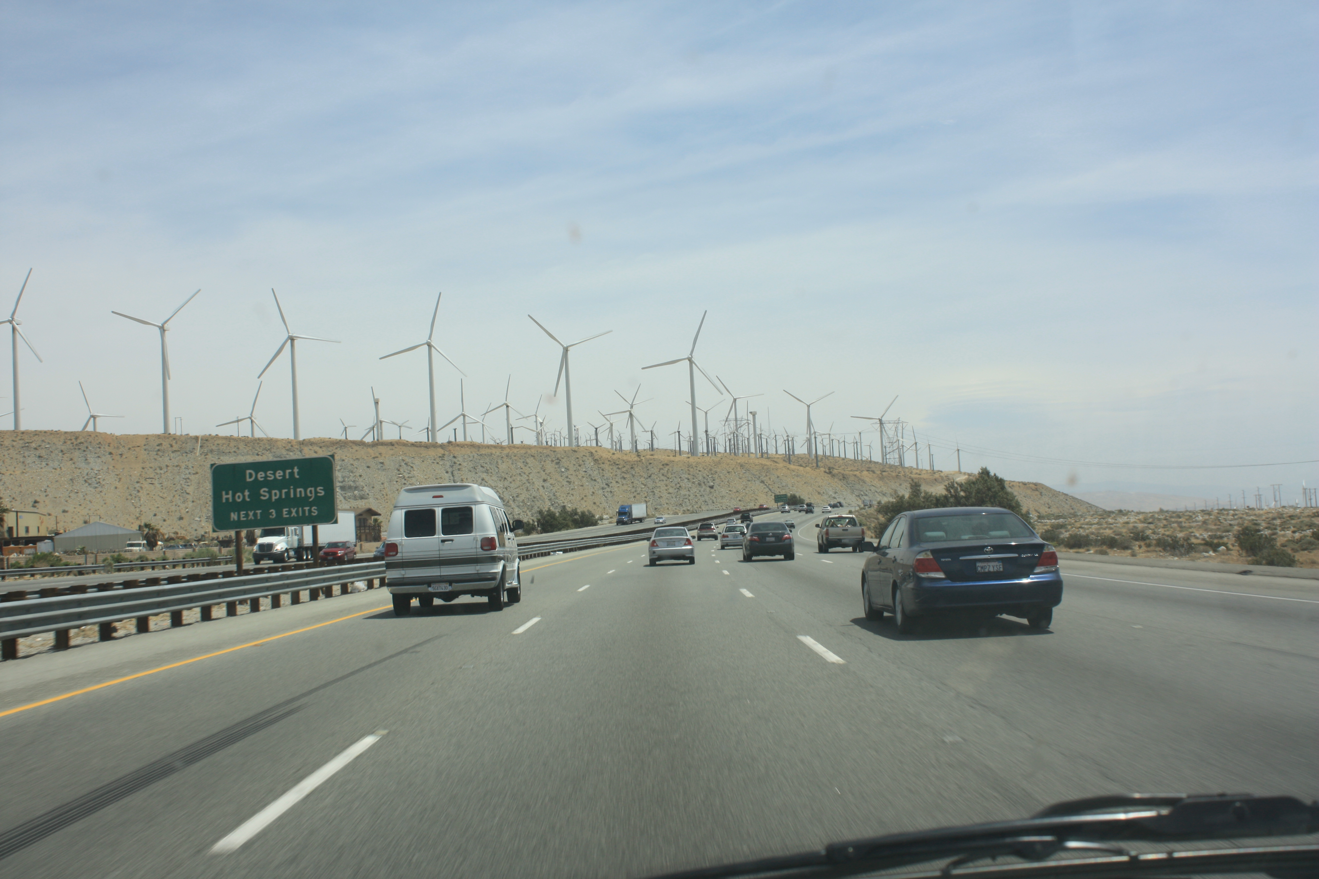 Windmills by Palm Springs