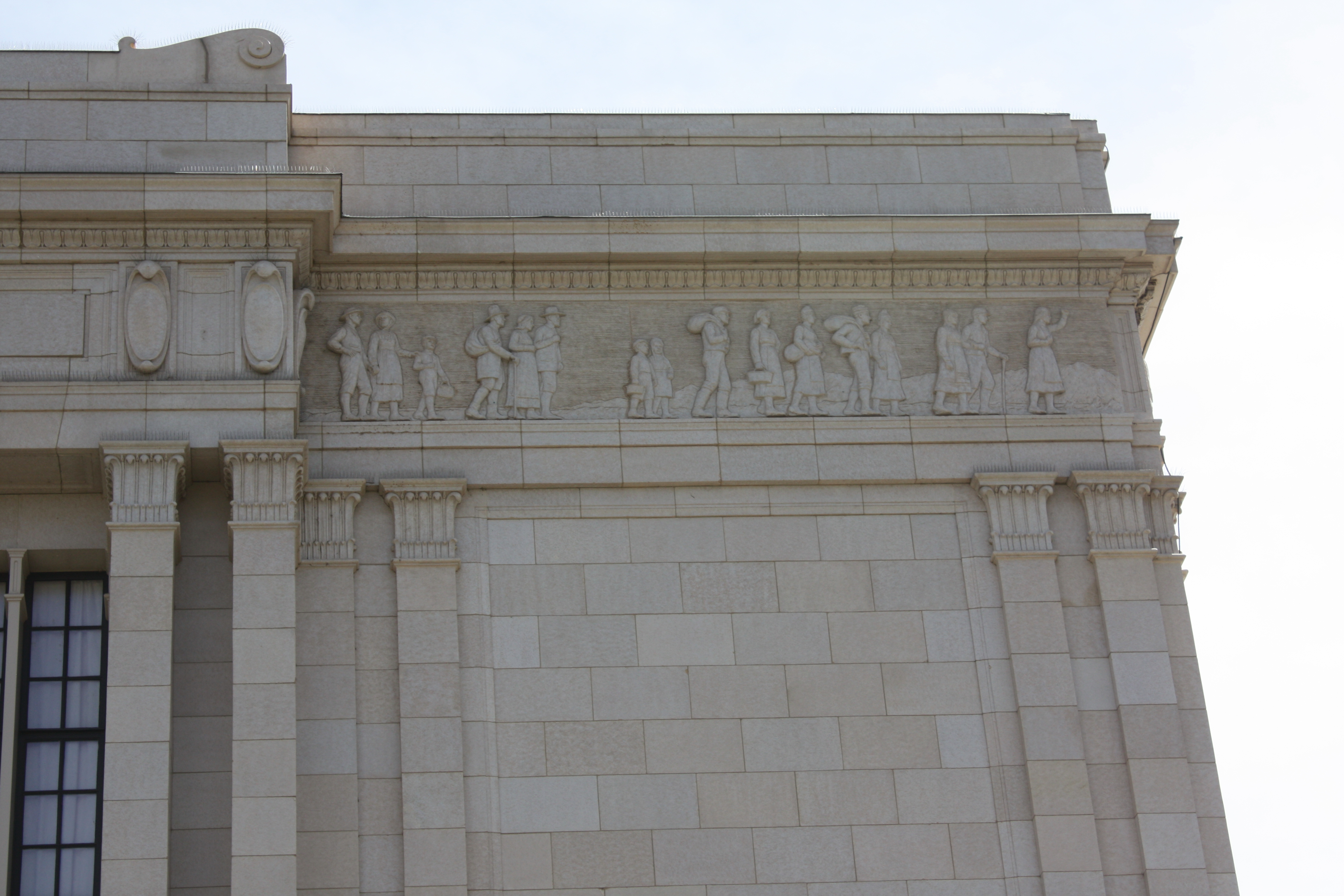 Mesa Temple panels