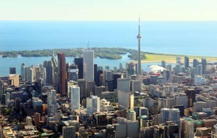 Toronto ON Skyline
