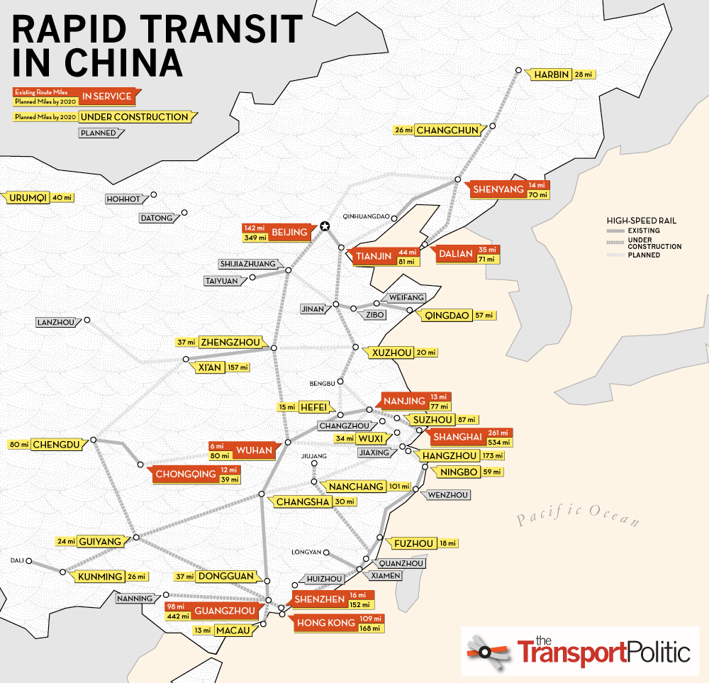 Rapid Transit in China