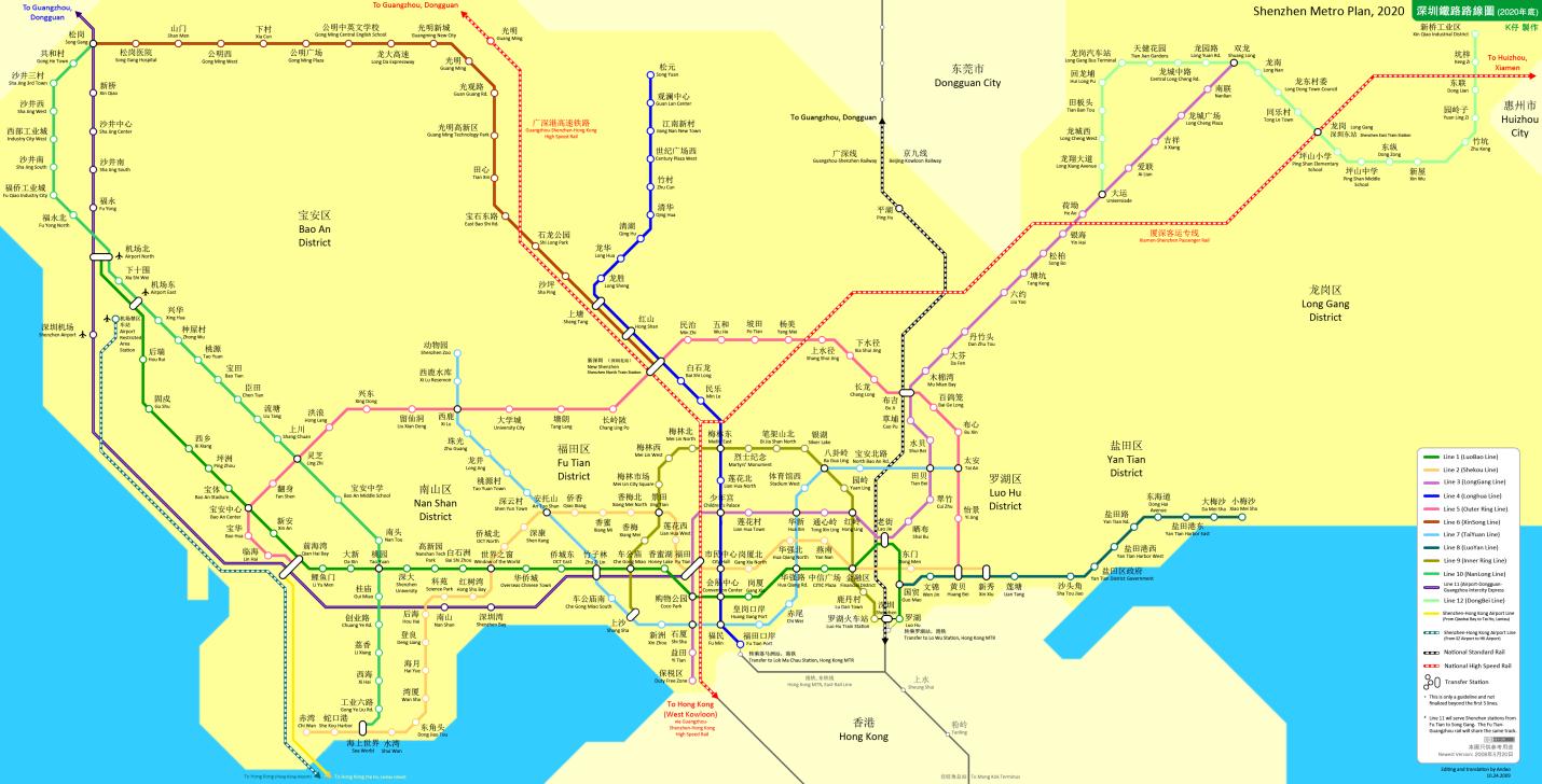 Shenzhen Metro Network