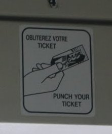 Obliterate Your Ticket