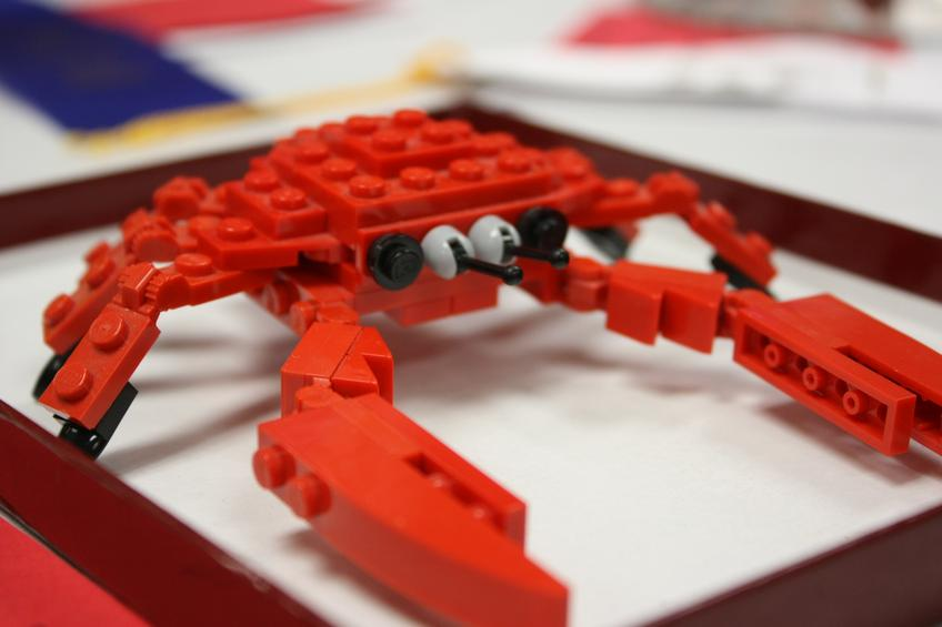 Crab…in Lego! — Photo 17 — Project 365