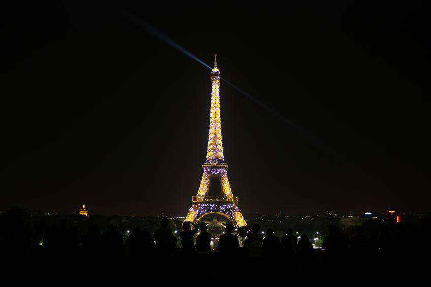 The Eiffel Tower of Light — Photo 45 — Project 365