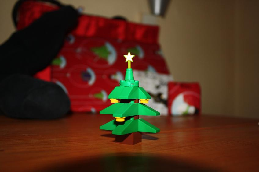 Lego Christmas Tree — Photo 67 — Project 365